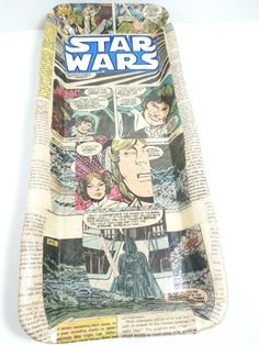 Star Wars Comic Book TrayGeeky Cool Gift for by Moonlightdecorator, $30.00