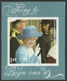 2012 Diamond Jubilee SG3327 Commemorative Single Self Adhesive Stamp, Mint nh