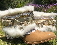 Gypsy bridal boots | Etsy Wedding Boots, Gypsy, Bridal, Vintage, Wedding Shoes, Vintage Comics, Bride, The Bride