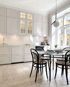 Home Fashion, Beautiful Kitchens, Kitchen Decor, Furniture Design, Kitchen Cabinets, Room Decor, Interior Design, Architecture, House Styles