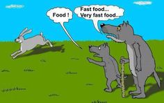 Very fast food
