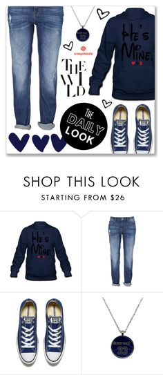 """Snapmade 4"" by abecic ❤ liked on Polyvore featuring Converse and snapmade"