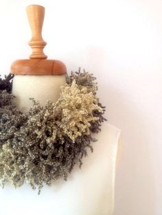 Gray to Ivory Fringed Scarf , Women Scarf, Fringed Scarf,  Long Scarf, Winter Fashion by allapples on Etsy https://www.etsy.com/listing/203987259/gray-to-ivory-fringed-scarf-women-scarf