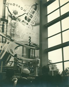 The Westinghouse Exhibit, featuring Elektro the Robot, NY 1939 Fair