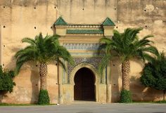 A very old arched way in Meknes, Morocco. #Morocco #Travel.