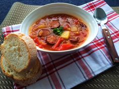 Chorizo Stew - Perfect Comfort Food