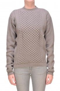 Stella McCartney - Pullover maxi in maglia strutturata :: Glamest Luxury Outlet Online Donna