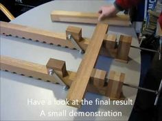 Wood bar clamps