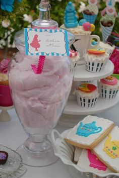 """Photo 3 of 25: Alice in Wonderland Tea Party / Birthday """"Kendall & Claire's Birthday""""   Catch My Party"""