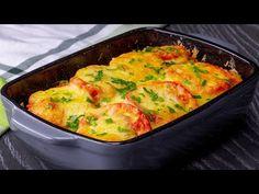 ÍGÉREM, ez a legízletesebb és egyszerűbb krumplis lasagna! Próbáld ki!| Ízletes TV - YouTube Macaroni And Cheese, Cooking, Breakfast, Ethnic Recipes, Desserts, Food, Easy Delicious Recipes, Easy Trifle Recipe, Salads