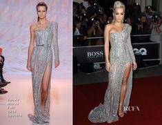 Rita Ora In Zuhair Murad Couture - 2014 GQ Men of the Year Awards - Red Carpet Fashion Awards