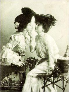 Merchant Ivory-esque Lesbian Couples