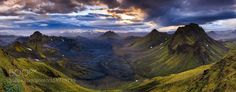 Fjallabak nature reserve Iceland