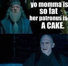Yo mama harry potter joke