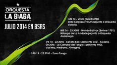 Orquesta La Biaba en Buenos Aires