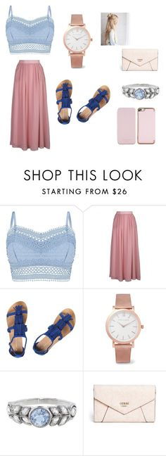 """""""Summer Casual"""" by norishaa on Polyvore featuring Lipsy, Dorothy Perkins, Larsson & Jennings, Cathy Waterman, GUESS and Ted Baker"""