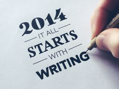 Dribbble - It All Starts With Writing by Sean McCabe