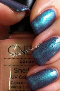 CND Shellac Layering Iced Coral over Rock Royalty | Flickr - Photo Sharing!