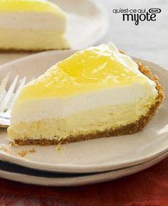 Tarte à la crème au citron #recette