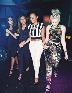 Little Mix ❤ I love how  they hold hands :)