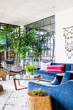 Brilliant boho beach living room that will impress you