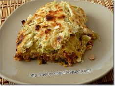 Vegetable Casserole, Hungarian Recipes, Lasagna, Quiche, Crockpot, Slow Cooker, Vegetables, Breakfast, Ethnic Recipes