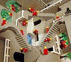 And an MC Escher knockoff...