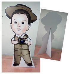 Totem para festas e eventos.  Caricatura infantil ! Anime, Art, Stationery Shop, Caricature, Craft Art, Anime Shows, Kunst, Anime Music, Gcse Art