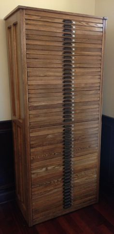 Hamilton Cabinet Letterpress Printers Wood Two Rivers Wisconsin 50 Drawers Map