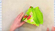 We See These Made Out Of Paper But Making Them With Fabric Is Different Spin. Watch! | DIY Joy Projects and Crafts Ideas