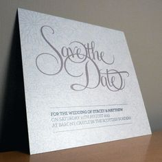 Save the Date Card - Bliss Wedding Range