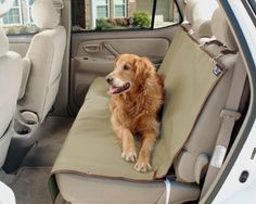 Waterproof Solvit Bench Seat Car Cover is a great choice for protecting the back seat of a car from dirt, dander and hair. These car seat covers for the back seat are made from durable, heavy-gauge po