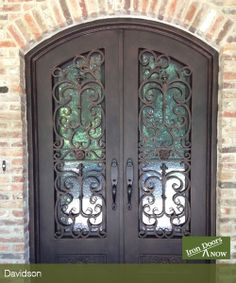 When you compare Iron Doors NOW to others in the industry you'll see why there's no comparison. Iron Doors NOW provide a lasting elegance that continues to lend curb appeal to each distinctive homeowner for many years to come.