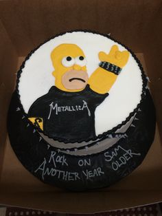 Homer Simpson Metallica - Homestyle Bakery Antioch, TN