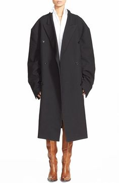 Vetements Oversize Cotton & Wool Coat available at #Nordstrom