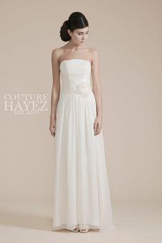 abiti-sposa-semplici-leggeri-atelier-milano , abiti sposa molto semplici, abiti da sposa lineari, abiti da sposa civile,