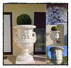 A Caça dos Anjos #damosvidaaoseujardim  #potswithangels  #angel #anjo  #vasos #vasosdecorativos #concert #whiteconcrete  #agueda #portugal  #produtsofportugal #madeinportugal
