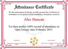 certificate of attendance free certificate templates for employees you can add text - Employee Of The Year Certificate Free Template