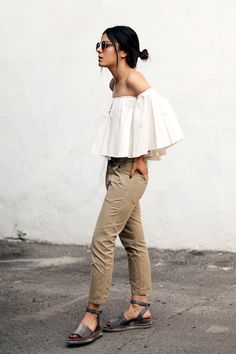 A Head-To-Toe Neutral Look To Try Now (Le Fashion)                              …