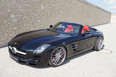 Mercedes-Benz SLS 63 AMG Roadster Enhanced By Senner Tuning