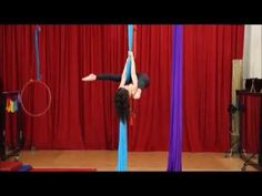 Tear Drop Climb - Aerial Silk Tutorial with Jill Franklin - YouTube