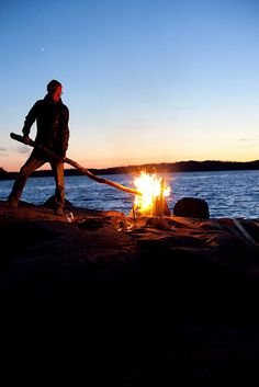 Midsummer night in Finnish Archipelago by Visit Finland Finland Culture, Monuments, Summer Bonfire, Scandinavian Countries, Europe, Archipelago, Wanderlust Travel, Helsinki, Beautiful Landscapes
