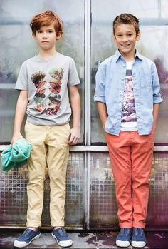 Brian and Nephew SS 15 moda infantil de alta calidad > Minimoda.es