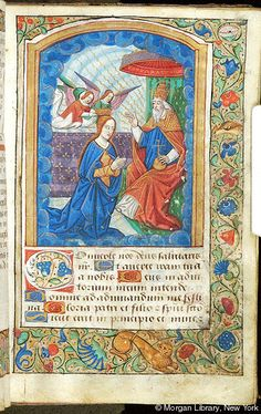 Book of Hours, MS M.1114 fol. 32r - Images from Medieval and Renaissance Manuscripts - The Morgan Library & Museum