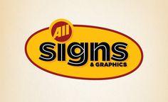 Logo design for sign company. #logo #logos #design