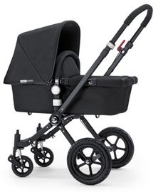 Bugaboo Cameleon All Black Limited Edition! I love ours, lightweight and easier than the Bob for everyday use! Still looking for custom canopy covers so I can change for the seasons!! Never used the bassinet feature with Jameson...maybe for the next baby Friend!