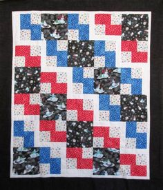 Snow Fun Steppin Out Quilt Kit