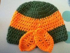 free crochet pattern childs ninja turtle hat