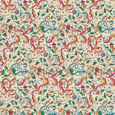 Hidden Dragon fabric by amyvail on Spoonflower - custom fabric.  Released 5/3/14.  A great gift wrap for graduation and wedding presents.