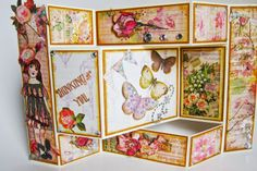 Tri-Fold 'Thinking of You' Shutter Card ~ Jubilee Crafts